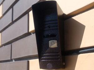 установка видео домофона в частном доме