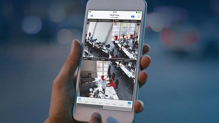видеонаблюдение через мобильный телефон