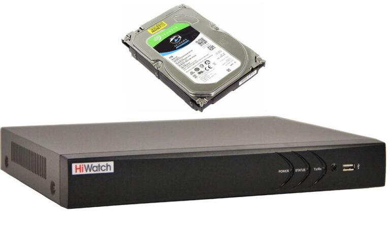 Выбираем видеорегистратор и жесткий диск