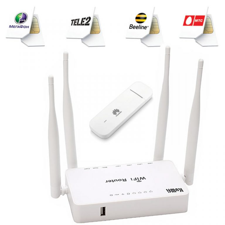 Роутер и 4G для дома (дачи)