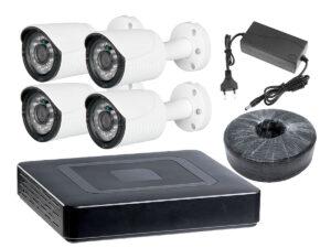 Комплект видеонаблюдения для дачи