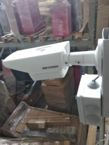 HD видеонаблюдение на складе